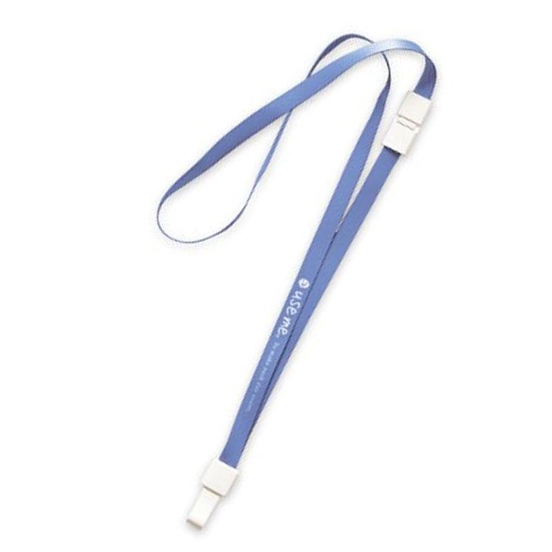 USE ME安全扣證件帶(藍)