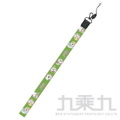 好想兔 長版證件繩(綠) CP-179B