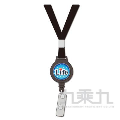 安全扣伸縮識別帶-黑(ABC-2007)