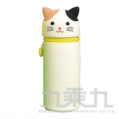 LIHIT花貓造型伸縮筆袋(大) A-7714-7