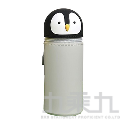 LIHIT企鵝造型伸縮筆袋(大) A-7714-10
