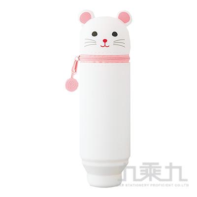 LIHIT可愛鼠伸縮筆筒(大)  A-7714-15