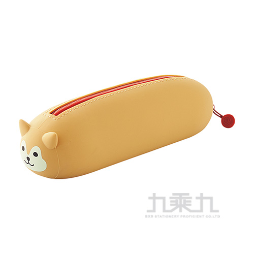LIHIT 柴犬橫式筆筒A-7781-2