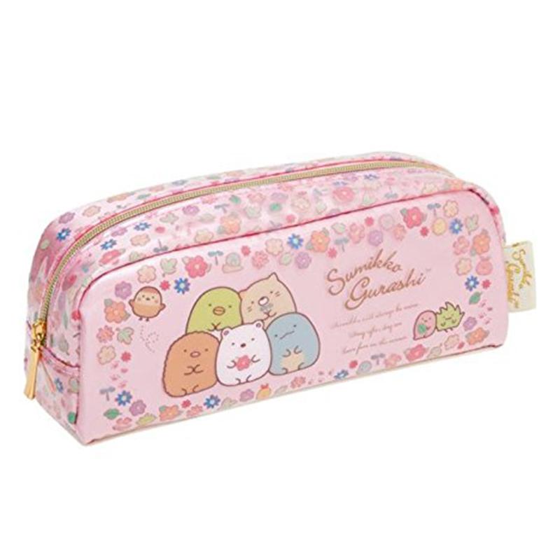 心情玩偶筆袋/粉紅