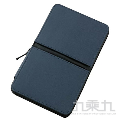 Raymay對折磁鐵固定筆盒2 L/深藍 R/M:FY339K