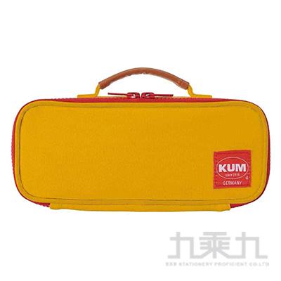 KUM 可提帆布筆袋/黃色 R/M:KM169Y