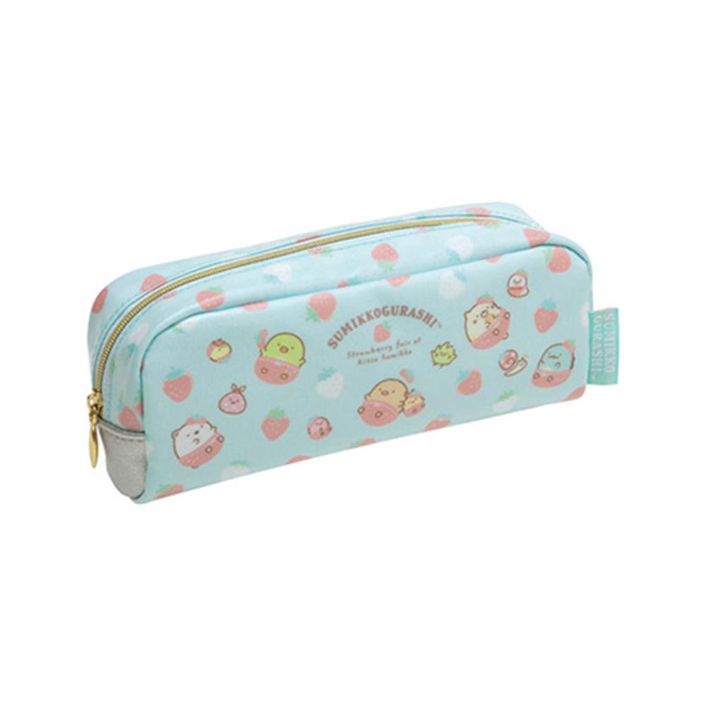 角落生物水藍色筆袋/喫茶 S/G:PY80601