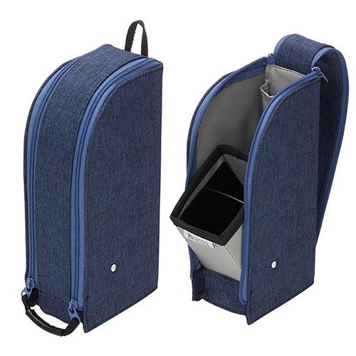 Raymay舒適易用立式筆袋/海軍藍