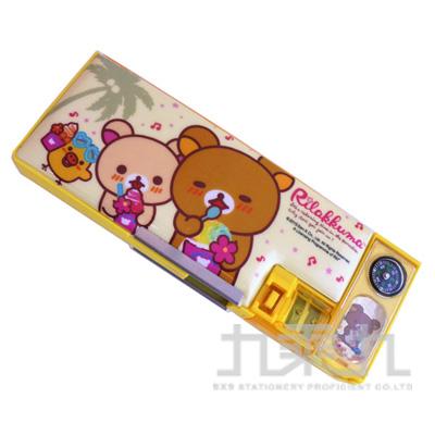 (2006+99) 拉拉熊彩珠大雙削筆盒(吃冰版)