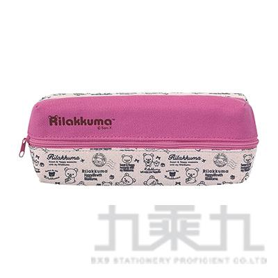 拉拉熊雙面長條筆袋文具(粉紅版) RK14051B
