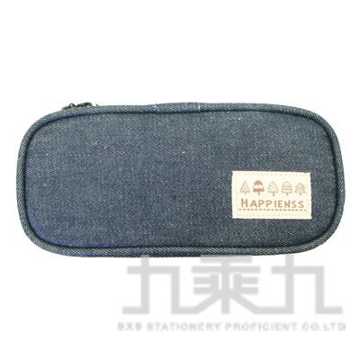 牛仔長型布筆盒 UACG0601
