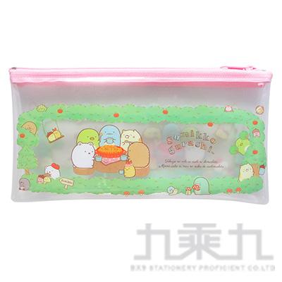 小夥伴透明扁筆袋(大)A-森林 SGCA2201