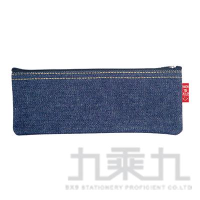 牛仔筆袋E-四方 UECA0901