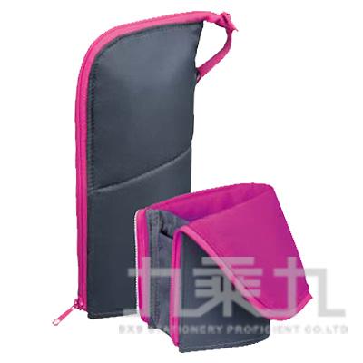 KOKUYO Neo Critz 站立筆袋大容量(粉灰) KOF-VBF181-3