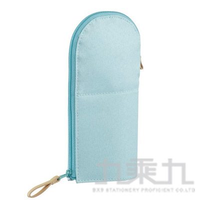 KOKUYO 站立筆袋VBF185-圓領藍