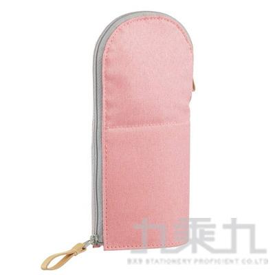 KOKUYO 站立筆袋VBF185-圓領粉