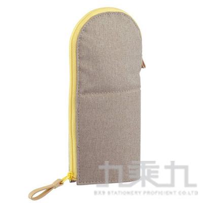 KOKUYO 站立筆袋VBF185-圓領灰