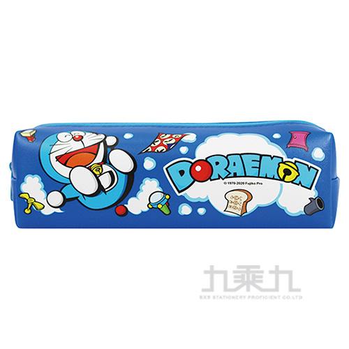 哆啦A夢方型筆袋-深藍