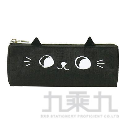 O-cat可愛貓耳三角筆袋(黑)