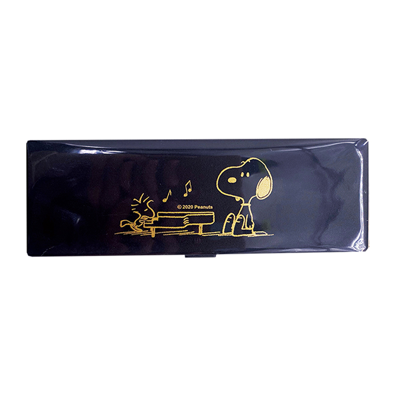SNOOPY史努比PP筆盒(黑)