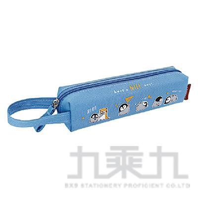 小淘企Po醬巧筆袋(藍)