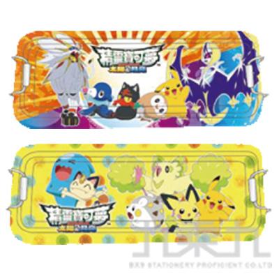 精靈寶可夢鐵扣三層鐵筆盒(3) PKDPC200-3