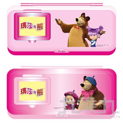 瑪莎與熊 鏡梳組筆盒 (款式隨機)