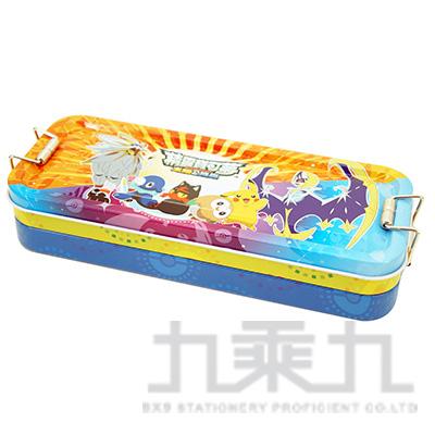 精靈寶可夢鐵扣三層鐵筆盒(4)