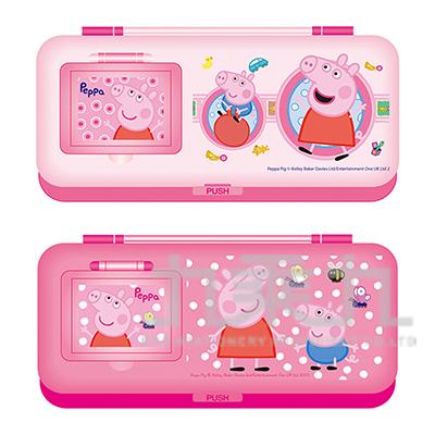粉紅豬小妹鏡梳組筆盒(3) PGPB160-4