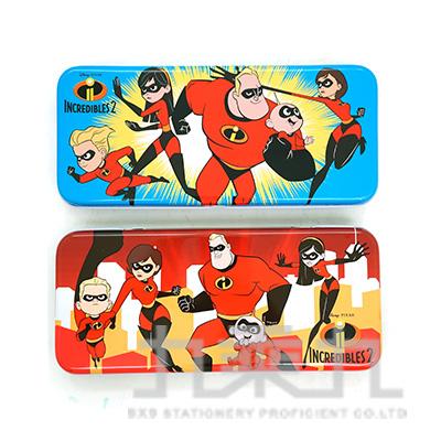 超人特攻隊2雙層鐵筆盒 SPDPC120-1