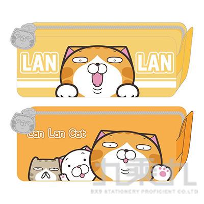 白爛貓方型筆袋 LCWPK180-1 (恕不挑款)