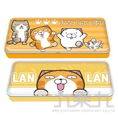 白爛貓雙層鐵筆盒 LCDPC120-1 (恕不挑款)