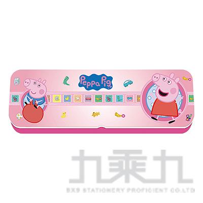 粉紅豬小妹雙層鐵筆盒(小) PGDPC90-4