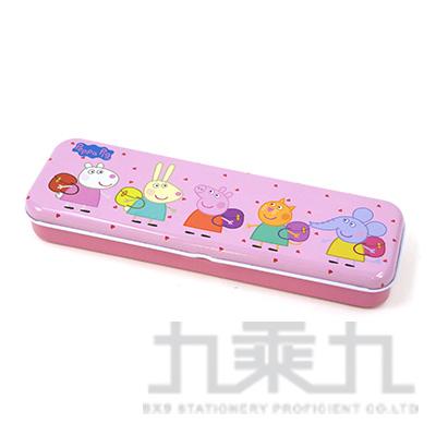 粉紅豬小妹雙層鐵筆盒-小(5)PGDPC90-5