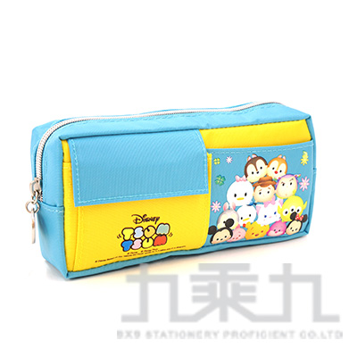 迪士尼 TSUM TSUM雙口袋筆袋(2)TTWPK220-3