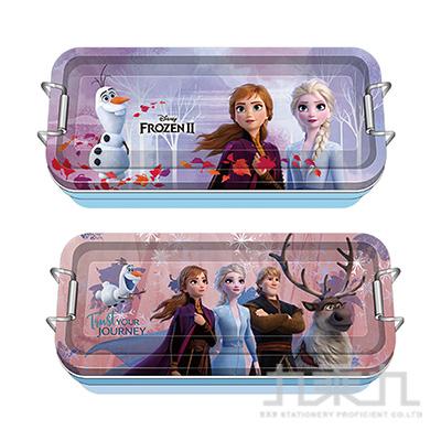 冰雪奇緣(2)鐵扣三層鐵筆盒