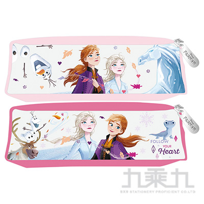 冰雪奇緣(2)果凍方型筆袋
