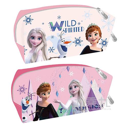 冰雪奇緣(2)皮質方型筆袋(2)(款式隨機出貨)