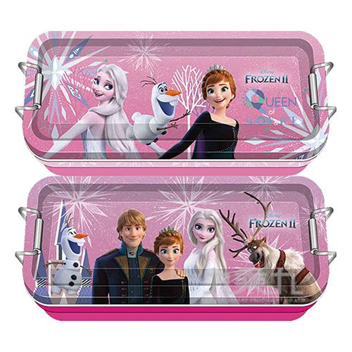 冰雪奇緣(2)鐵扣三層鐵筆盒(3)(款式隨機出貨)