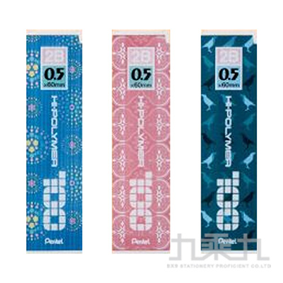 Pentel 印花樂替芯-2B C205IB(顏色隨機)