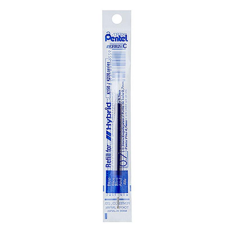 Pentel鋼珠筆筆芯-藍KFR7-C