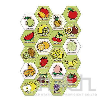 造型幼教磁鐵板-水果 2151C