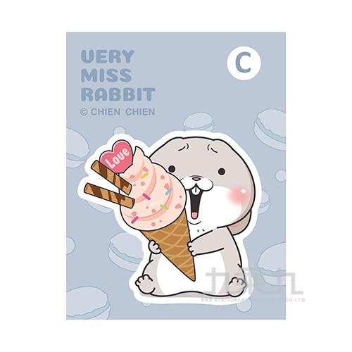 創意磁鐵(冰淇淋)-好想兔 CGC-287C