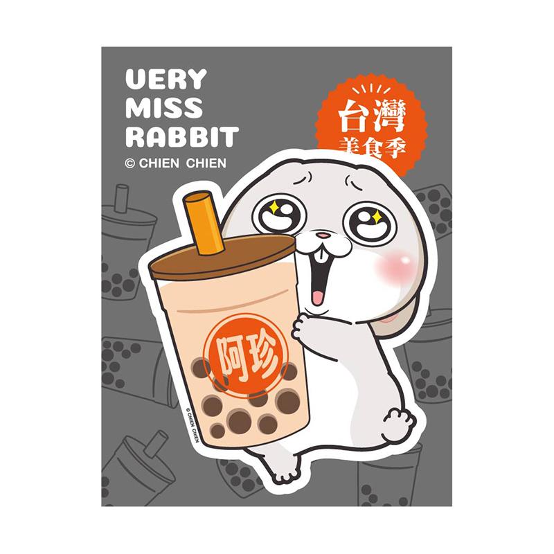創意磁鐵(珍珠奶茶)-好想兔
