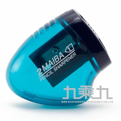 2枚刃2倍快速削筆器/藍 KUTSUWA:RS021BL