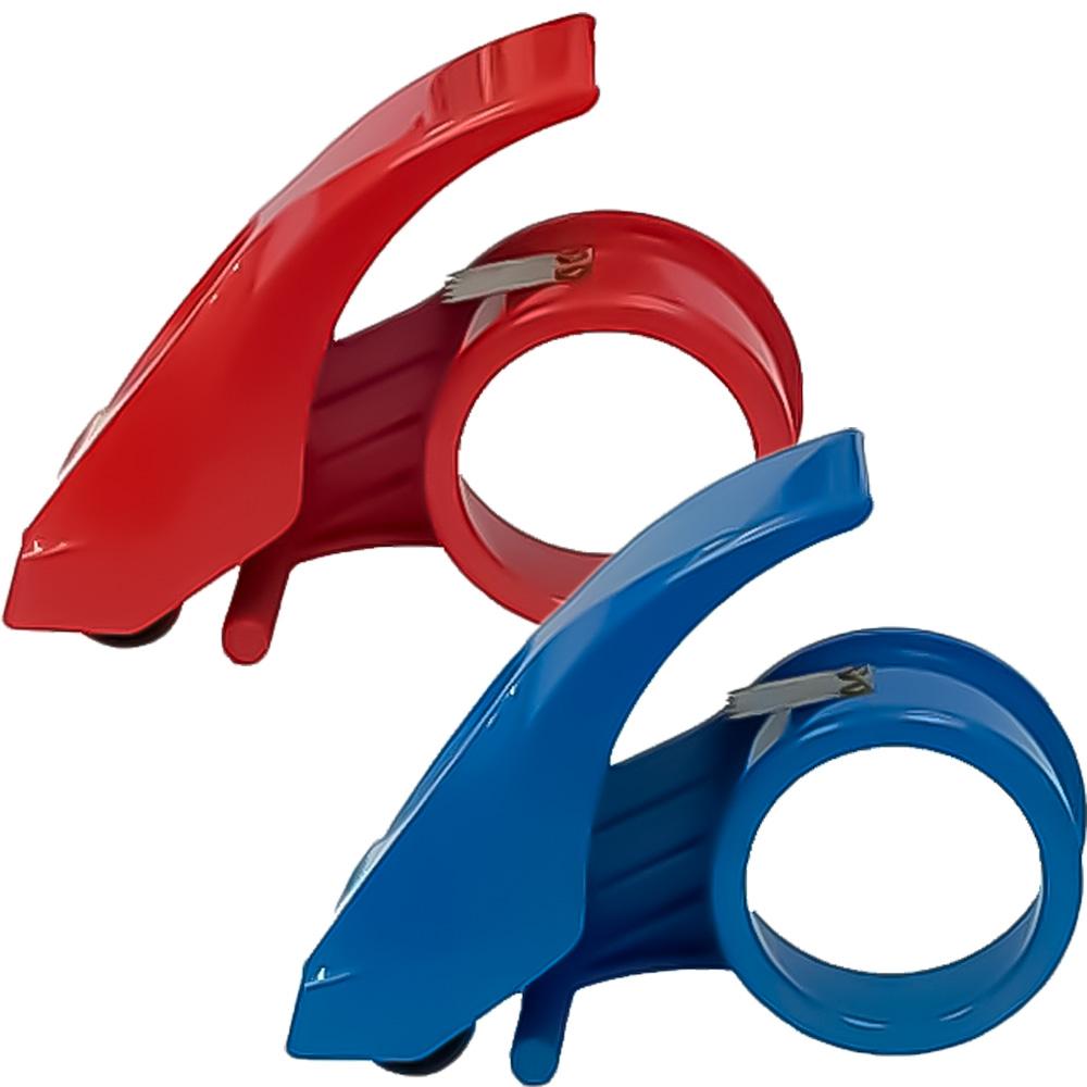 """防回轉2""""膠帶切割器(塑膠)2色 LT-47014 (顏色隨機)"""