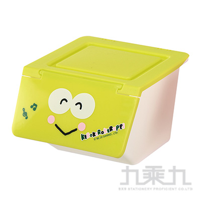 K/R大眼蛙上開造型置物盒 187153