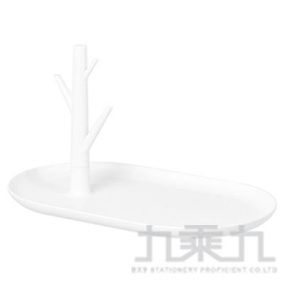 ROI飾品置物托盤-白色 271214-WH