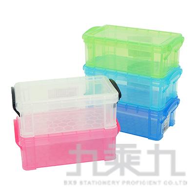 9號精品收納盒-透明 NO-9B5371 (款式隨機)