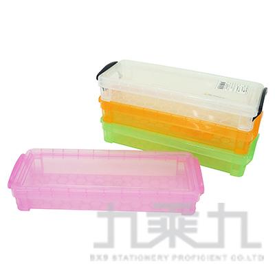 8號精品收納盒-透明 NO-8B5395 (款式隨機)